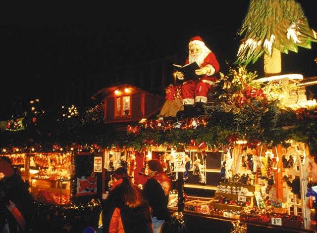 Добро пожаловать на рождественскую ярмарку!