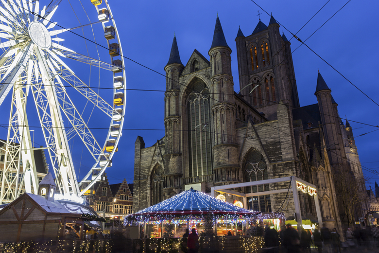 hotels nabij de Gentse kerstmarkt
