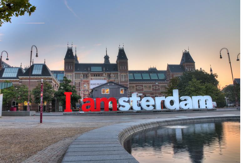 Trein En Hotel Amsterdam