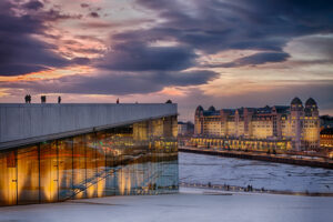 Citytrip Oslo Operahuset