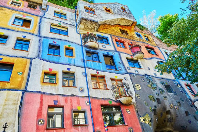 Citytrip Wenen Hudertwasserhaus